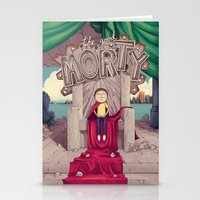 The GOOD Morty Stationery Cards