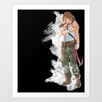 Tomb Raider Art Print
