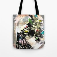 Life in a Cage Tote Bag
