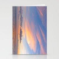 Sherbet Sunset Stationery Cards