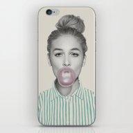 Bubblegum Jane iPhone & iPod Skin