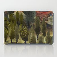 The hill. iPad Case