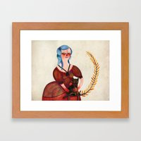 Kitty Kitty Framed Art Print