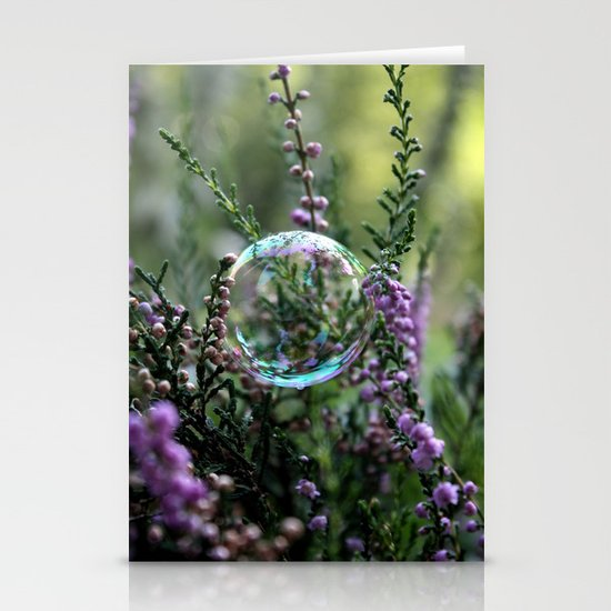 Bubble Stationery Card