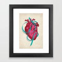 By heart Framed Art Print