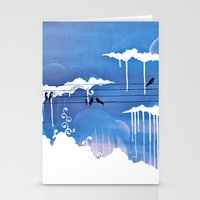 pouring Stationery Cards