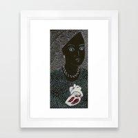 DE CORAZÓN Framed Art Print