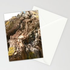 Big Rock by the beach Stationery Cards