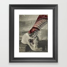 NUMBER 18 (SHOE) Framed Art Print