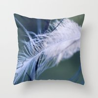 Lost Feather Throw Pillow