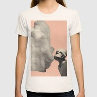 Exhalation Womens Fitted Tee Natural SMALL