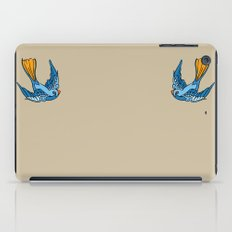 Swallow Tattoo iPad Case