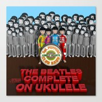 Sgt. Pepper's Lonely Hea… Canvas Print