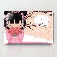 Dream Kokeshi Doll In Pi… iPad Case