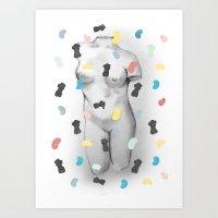 Lyssa. Art Print