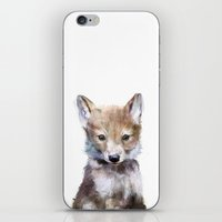 Little Wolf iPhone & iPod Skin