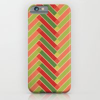 iPhone & iPod Case featuring Holly Go Chevron by Grace Kelly McConnell