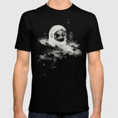 Intercatlactic Mens Fitted Tee Black SMALL