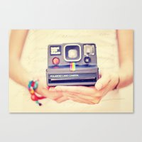 Polaroid Canvas Print