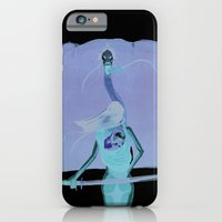 iPhone & iPod Case featuring Samurai girl and the prince of the white demons #1 by antoniopiedade