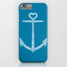 Love is the anchor Slim Case iPhone 6s