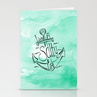 Live A Salty Life Stationery Cards