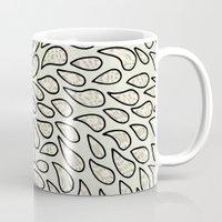 Pearlised Drops - Ivory Mug