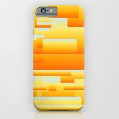yellow modern Art iPhone 6s Slim Case