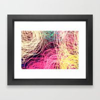 My Inside Thoughts Framed Art Print