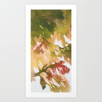 Morning Blossoms 2 - Oli… Art Print