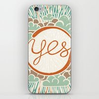 yes iPhone & iPod Skin
