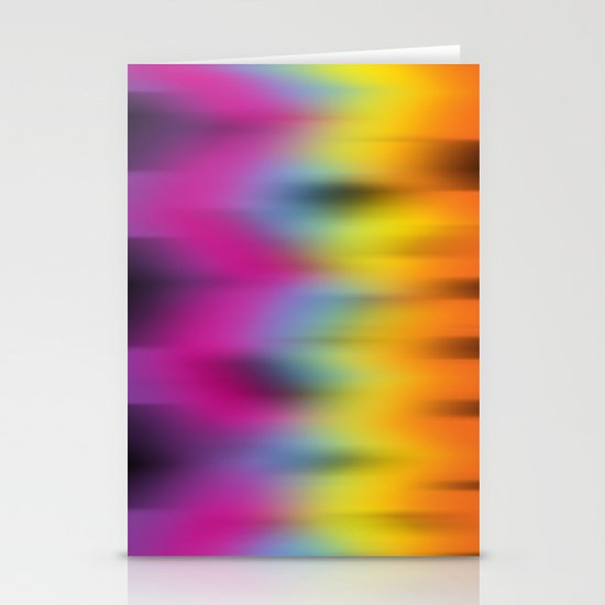 Now That's Abstract! Stationery Card