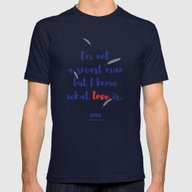 Forrest Gump Knows What … Mens Fitted Tee Navy SMALL
