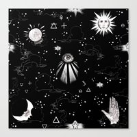Spiritual Alchemy Canvas Print