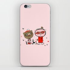 Two Friends iPhone & iPod Skin