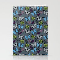 Butterflies 01 Stationery Cards