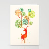For The Tree Is The Fore… Stationery Cards