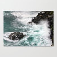 Atlantic Coast, Cornwall… Canvas Print