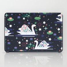 Swans On Stars  iPad Case