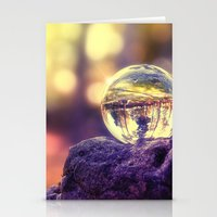 COLLECTION »CRYSTAL BALL« | Last Light Stationery Cards