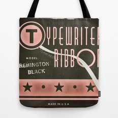 Typewriter Ribbon Tote Bag