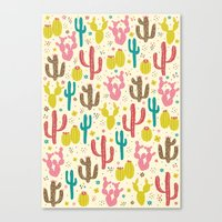 Prickly Cactus  Canvas Print