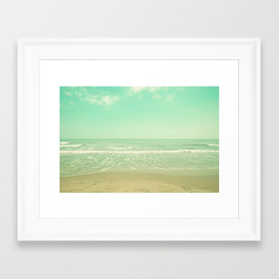 Wide Oceans Framed Art Print