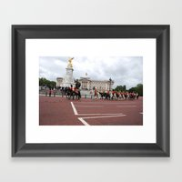 The Guards with their Horses 17 Framed Art Print