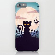 Cat In The Moon Light iPhone 6 Slim Case