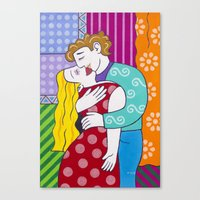 Vico Pop Canvas Print