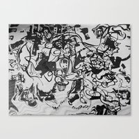 liquid journal Canvas Print