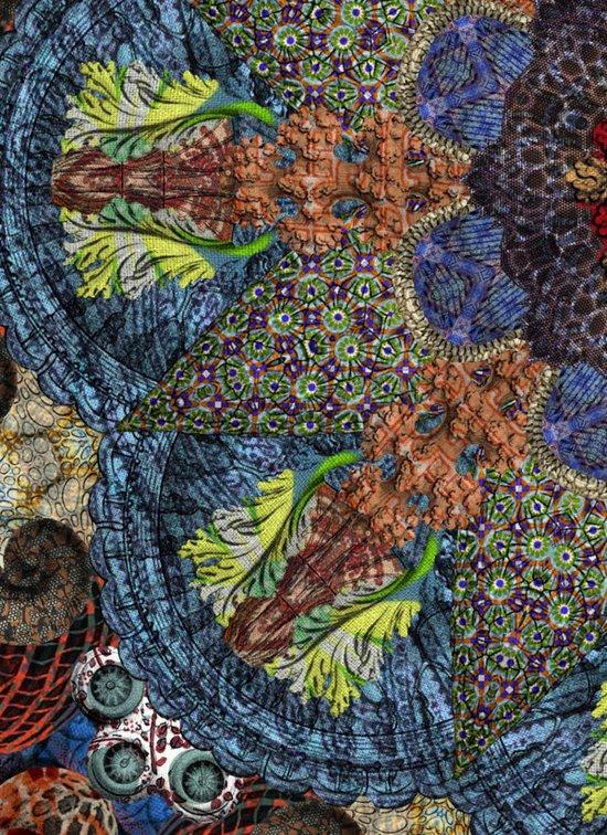 Psychedelic Botanical 6 Art Print