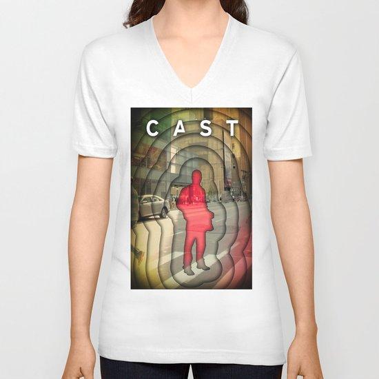 cast V-neck T-shirt