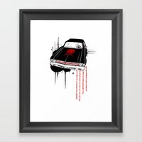 Death Proof Framed Art Print